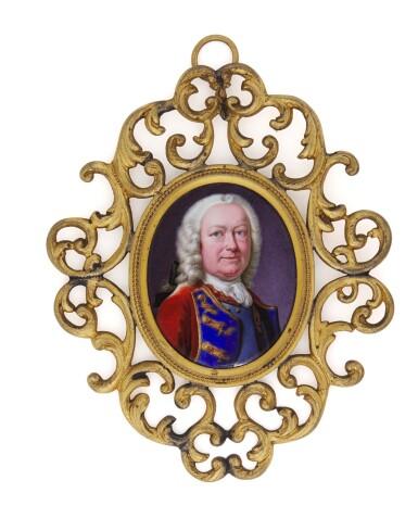 View 1. Thumbnail of Lot 112. Portrait of Lieutenant General William Hargrave (d. 1751).