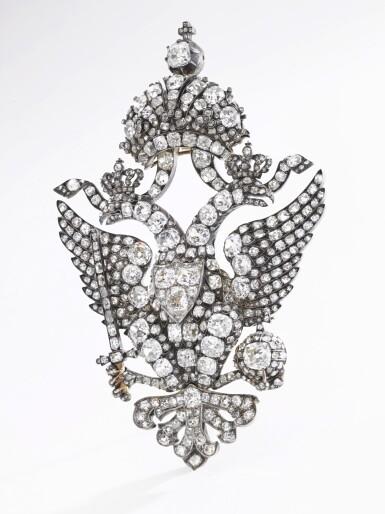 View 5. Thumbnail of Lot 166. Important diamond brooch, late 19th century | 鑽石別針,十九世紀末.