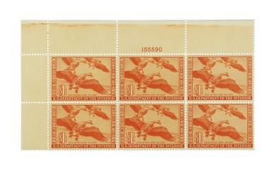 Hunting Permits 1943 $1.00 Deep Rose (RW10)
