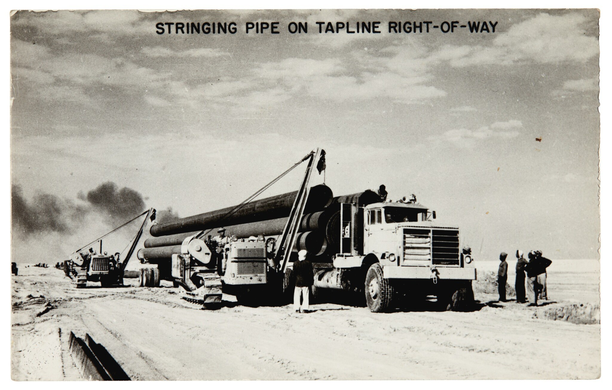 View 1 of Lot 254. Saudi Arabia | 15 photographs of the oil industry, c.1950.