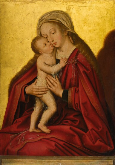 SCHOOL OF BRUGES, FIRST HALF OF THE 16TH CENTURY | The Virgin and Child | 布魯日畫派,十六世紀上半葉 |《聖母與聖嬰》