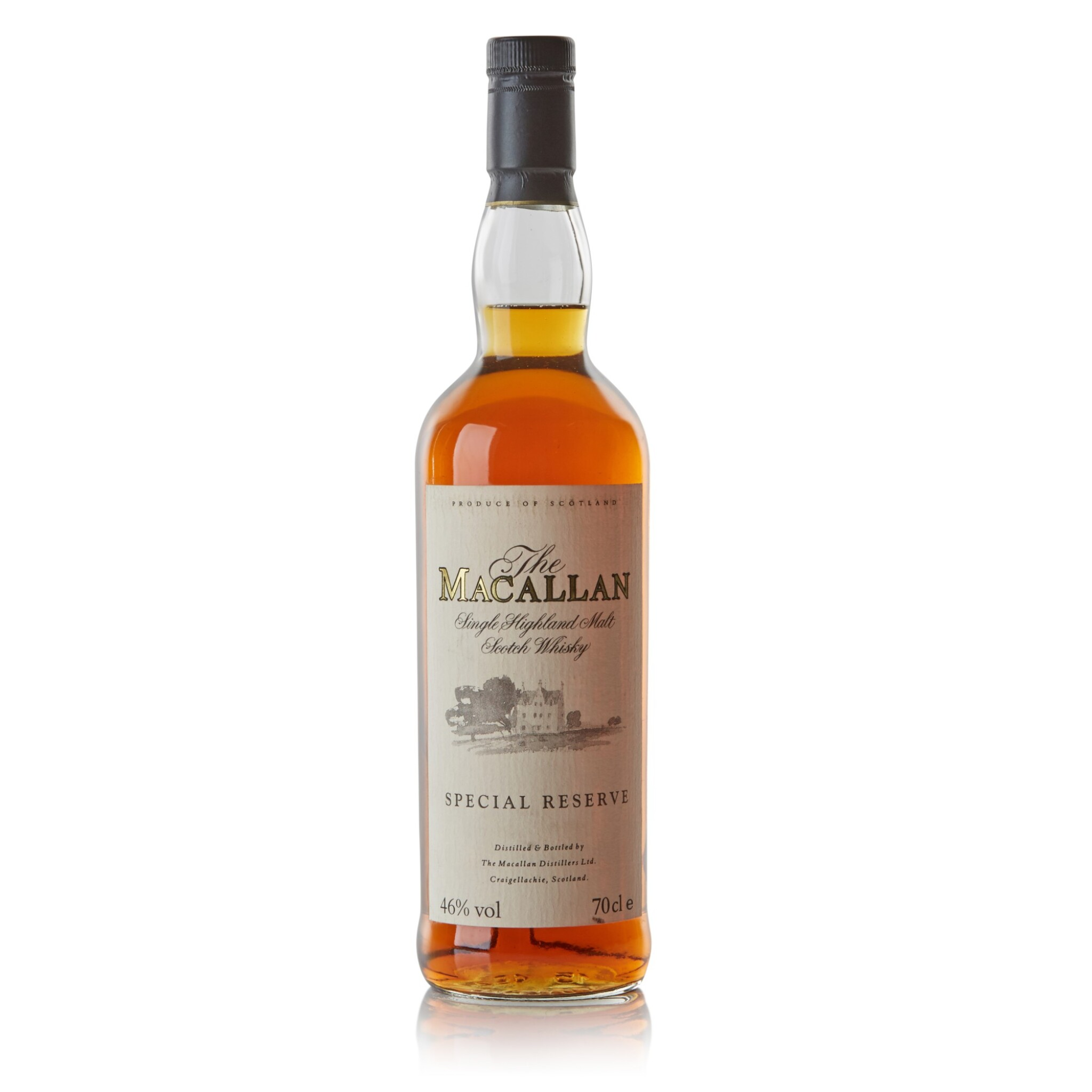 View full screen - View 1 of Lot 77. The Macallan Easter Elchies Special Reserve 46.0 abv NV .
