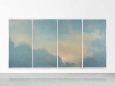View 4. Thumbnail of Lot 20. GERHARD RICHTER | WOLKEN (FENSTER) (CLOUDS (WINDOW)).