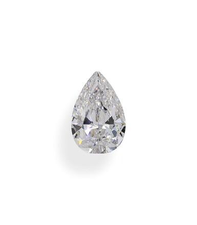 A 1.63 Carat Pear-Shaped Diamond, E Color, Internally Flawless
