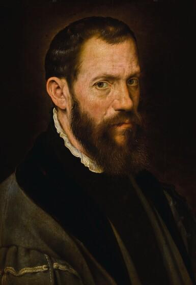ANTHONIS MOR | Portrait of Jacopo da Trezzo (c. 1514–1589) | 安東尼斯・莫爾 | 《雅各布・達・特雷佐肖像(約1514–1589年)》
