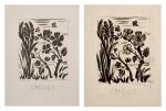 PABLO PICASSO | TWO WORKS: L'AVEILLE (L'ABEILLE) (B. 349; BA. 596)