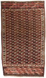 A CHODOR MAIN CARPET, WEST TURKESTAN