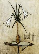 Lys dans un vase de Gallé