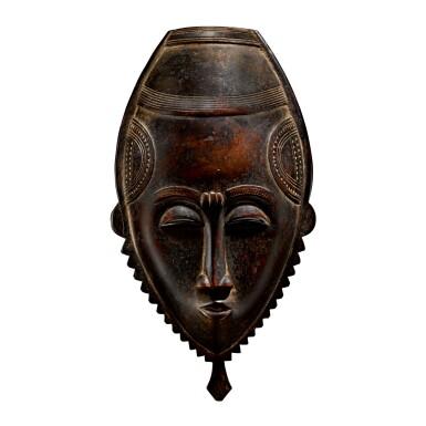 BAULE OR YAURE MASK, CÔTE D'IVOIRE