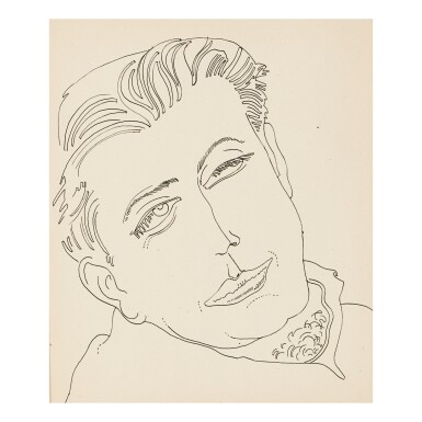 ANDY WARHOL | UNIDENTIFIED MALE