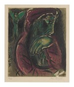 MARC CHAGALL | JOB IN DESPAIR (M. 254)