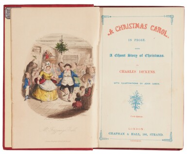 Dickens, A Christmas Carol, 1844, tenth edition
