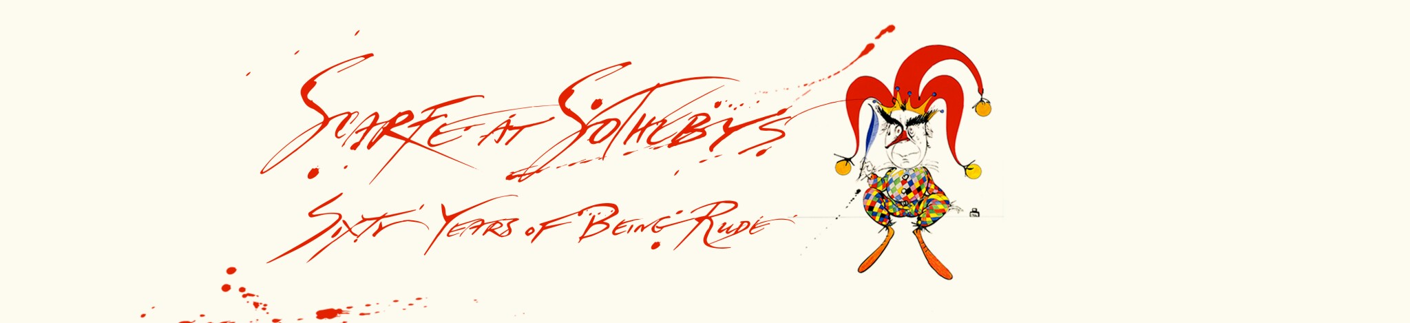 Scarfe at Sotheby's: Sixty Years of Being Rude