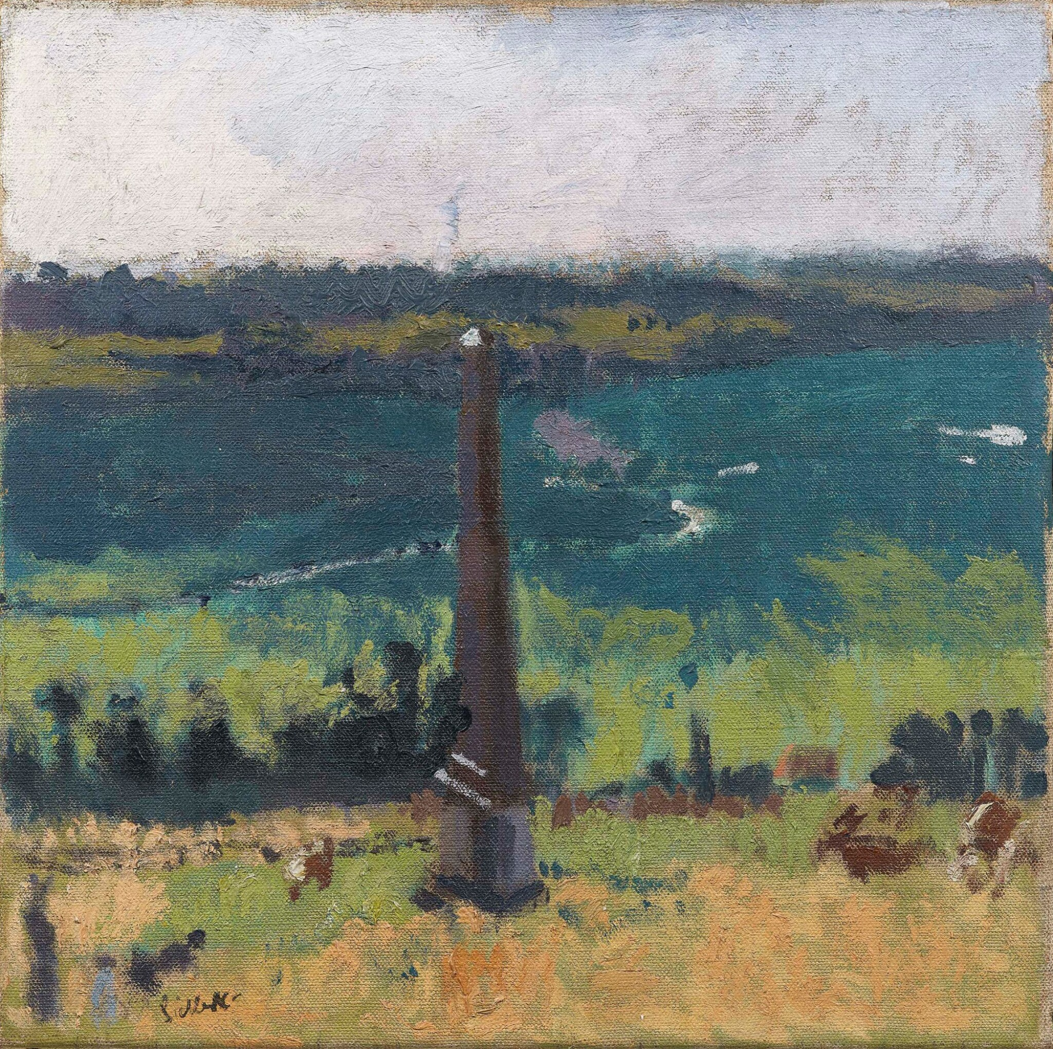 View full screen - View 1 of Lot 39. WALTER RICHARD SICKERT, A.R.A. | THE OBELISK.