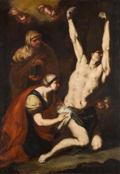 View 1. Thumbnail of Lot 120. Saint Sebastian Tended by the Pious Women.