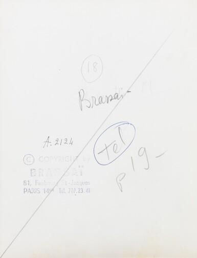 Brassaï | Graffiti - Croix de Lorraine (Series II), 1945