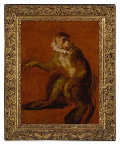 View 2. Thumbnail of Lot 610. A monkey.