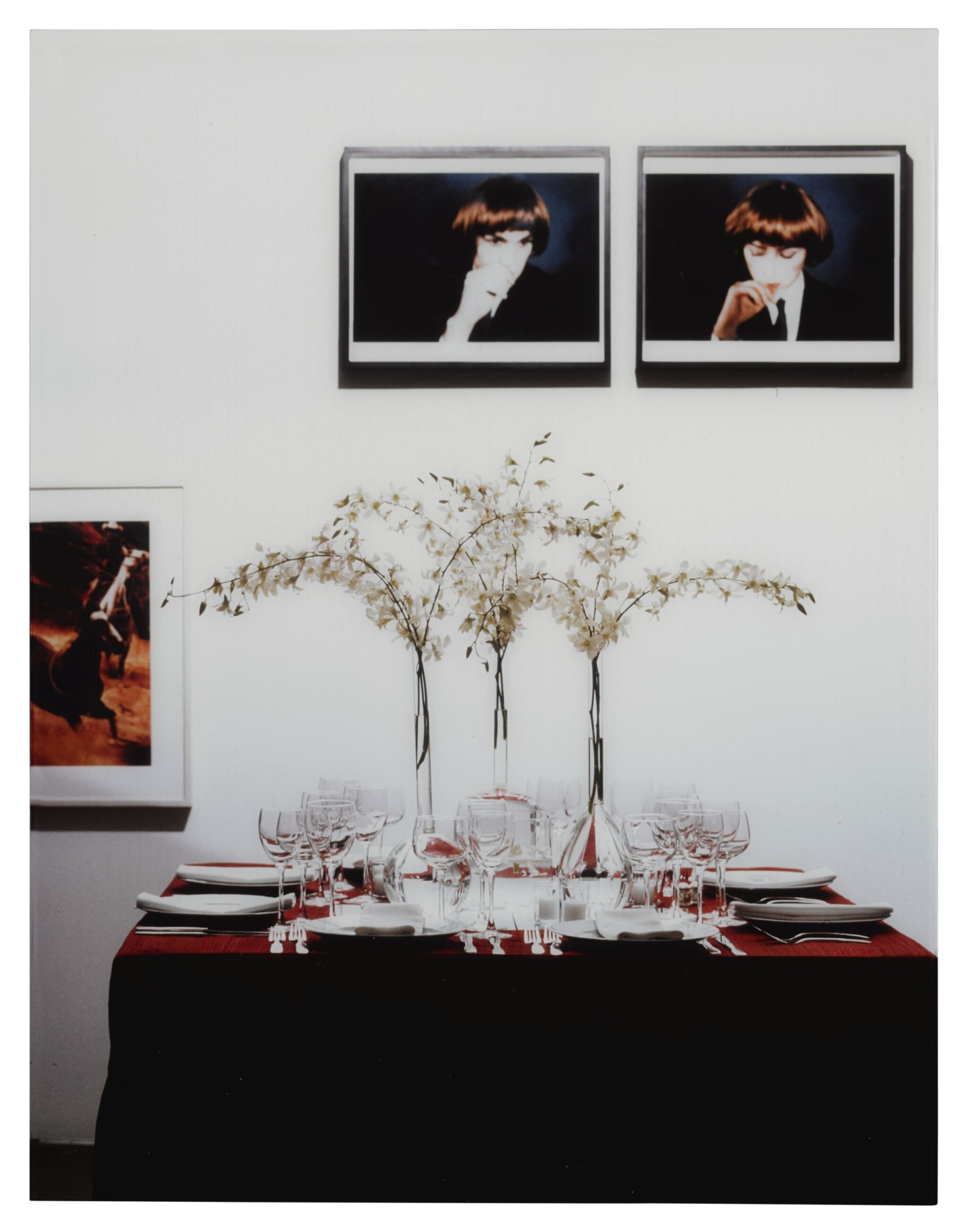 View full screen - View 1 of Lot 2. LOUISE LAWLER | TABLE SETTING.