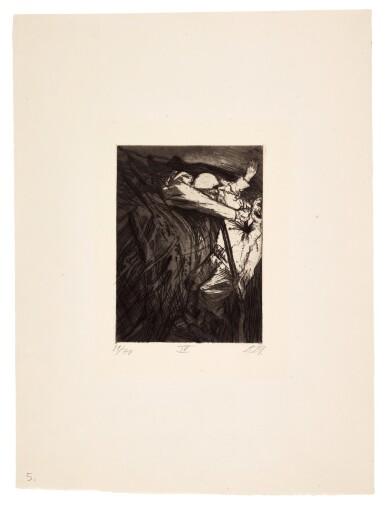 View 43. Thumbnail of Lot 19. Der Krieg (K. 70 - 119).