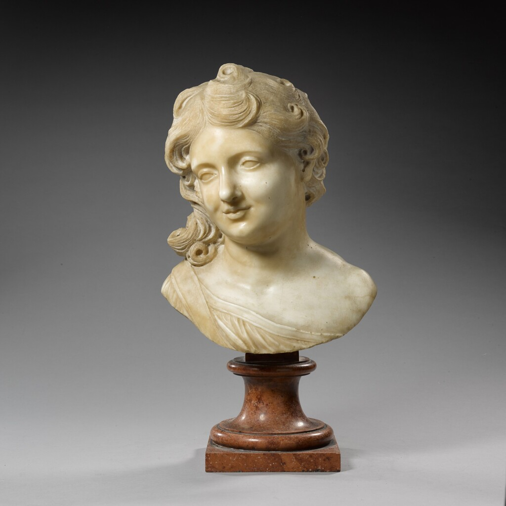 ITALIAN, ROME, 17TH CENTURY | HEAD OF A BOY OR ANGEL