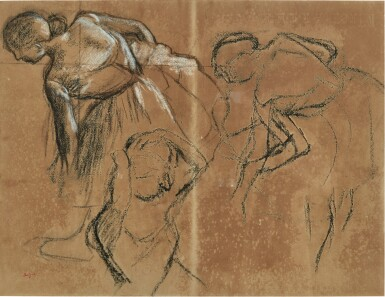 View 1. Thumbnail of Lot 21. Trois danseuses.