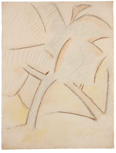 View 1. Thumbnail of Lot 105. PABLO PICASSO | ARBRES.