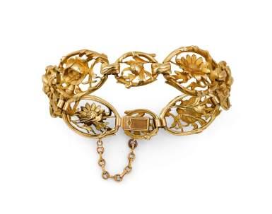 Gustave-Roger Sandoz, Gold bracelet [Bracelet or], late 19th century- early 20th century [fin du 19ème - début du 20ème siècle]