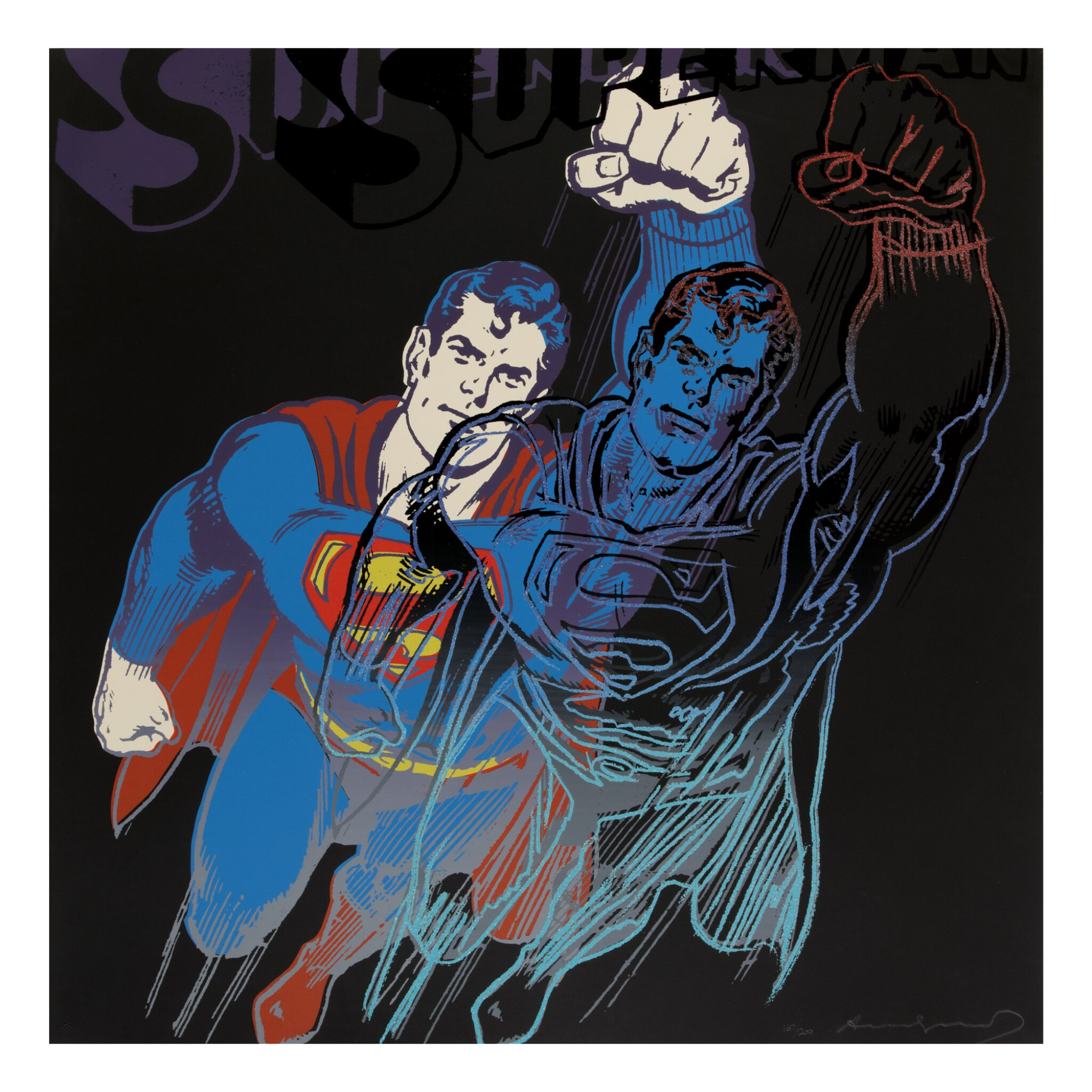 View full screen - View 1 of Lot 65. ANDY WARHOL | SUPERMAN (F. & S. II.260).