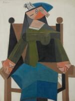 Femme assise dans un fauteuil |《扶手椅上的女子坐像》