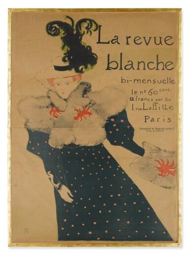 View 2. Thumbnail of Lot 166. La Revue Blanche (Delteil 355; Adriani 130; Wittrock P16).