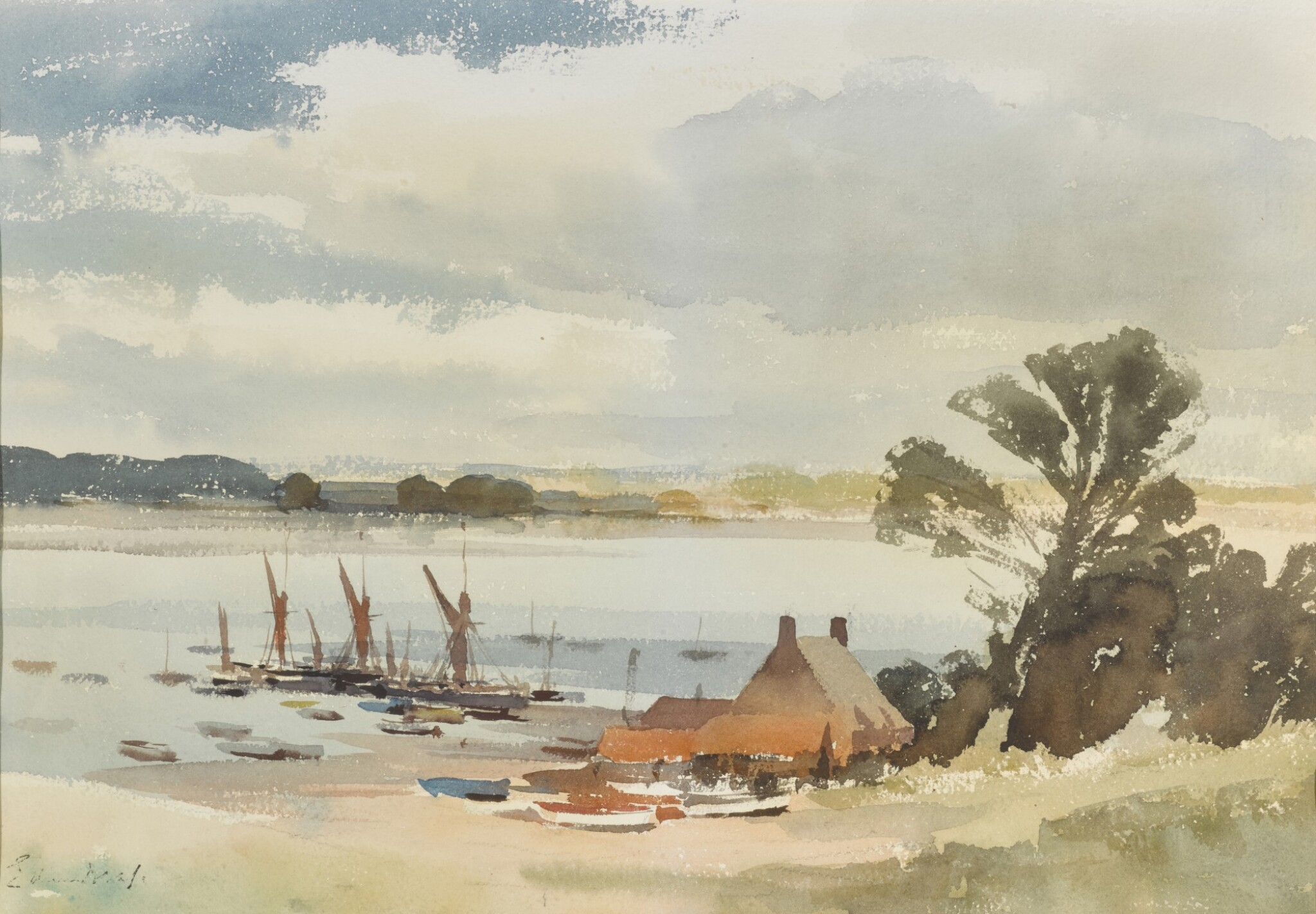 View 1 of Lot 117. Billy King's Cottage, Pin Mill.