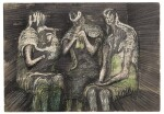 HENRY MOORE | THREE WOMEN IN A SHELTER