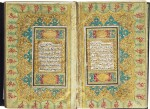 AN ILLUMINATED QUR'AN, COPIED BY MIR HAFIZ IBRAHIM, KNOWN AS AL-'AFIF, TURKEY, OTTOMAN, DATED 1245 AH/1829-30 AD