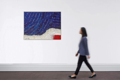 View 3. Thumbnail of Lot 778. Hsiao Chin 蕭勤 | Blue Introspection 藍色之省思.