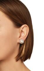 PAIR OF CULTURED PEARL AND DIAMOND EARCLIPS, VAN CLEEF & ARPELS, FRANCE