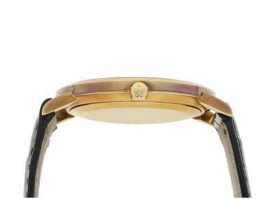 View 5. Thumbnail of Lot 156. PATEK PHILIPPE | REFERENCE 3893  A YELLOW GOLD WRISTWATCH, MADE IN 1981.