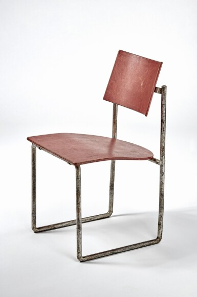 "View 3. Thumbnail of Lot 11. ""Schröder"" Upright Chair."
