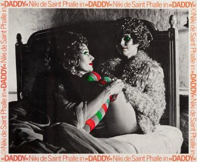 "NIKI DE SAINT-PHALLE | DADDY, 1972 (14 WORKS)  FILM STILLS FROM ""DADDY"" DIRECTED BY NIKI DE SAINT PHALLE AND PETER WHITEHEAD"