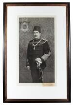 Egypt | Portrait of Fuad I of Egypt