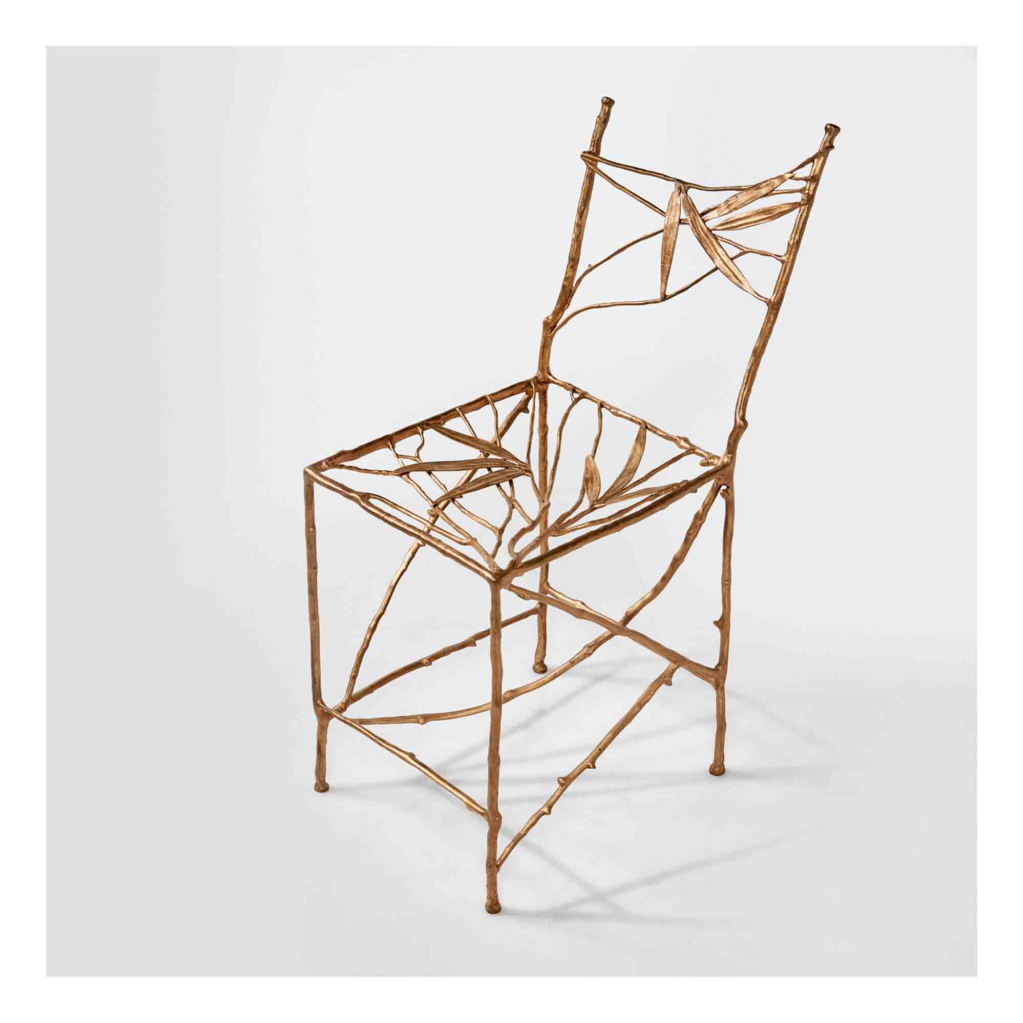 """View 1 of Lot 445. """"Bambou"""" Chair."""