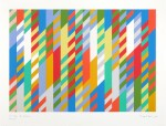 BRIDGET RILEY | 1ST STUDY FOR PAINTING