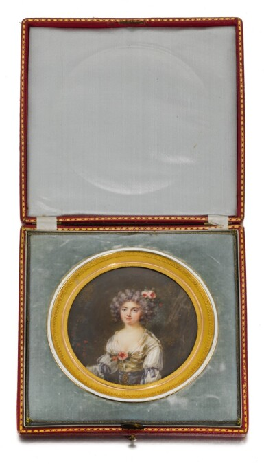 PIERRE ADOLPHE HALL   PORTRAIT OF A LADY, TRADITIONALLY IDENTIFIED AS THE MARQUISE DE FLAVACOURT