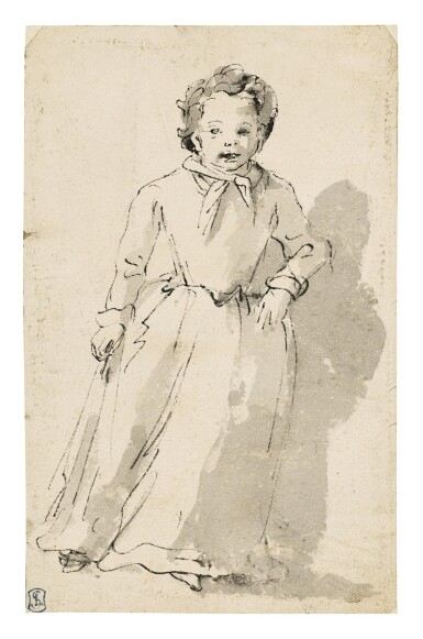View 1. Thumbnail of Lot 256. A Standing Child.