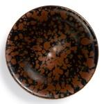 A SUPERB AND RARE CIZHOU RUSSET-SPLASHED BLACK-GLAZED 'PARTRIDGE FEATHER' BOWL  NORTHERN SONG DYNASTY | 北宋 磁州窰鷓鴣斑斗笠盞