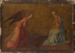 MANNER OF FRA GIOVANNI DA FIESOLE, CALLED FRA ANGELICO | The Annunciation