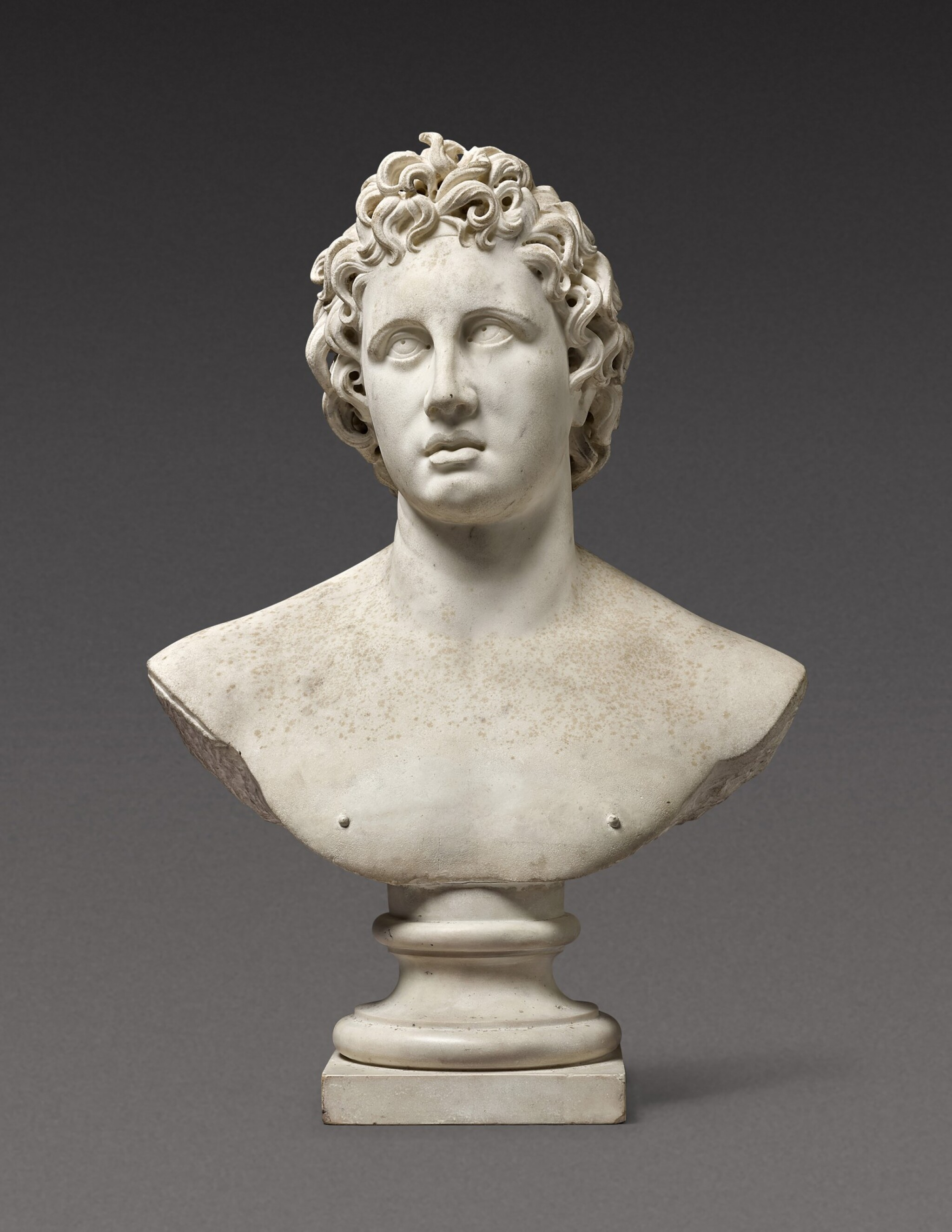 View 1 of Lot 116. Italian, probably 17th century | Bust of Helios Alexander.