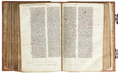 View 8. Thumbnail of Lot 6. The Bible of William Ketyll, with prologues, in Latin [England, 13th century (second quarter or middle)].