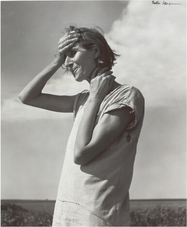 View 1. Thumbnail of Lot 68.  DOROTHEA LANGE | WOMAN OF THE HIGH PLAINS, TEXAS PANHANDLE.