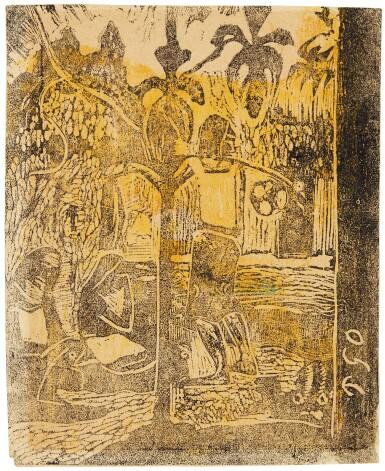 View 1. Thumbnail of Lot 26. Noa Noa (The Small Plate) (G. 47; K. 34).