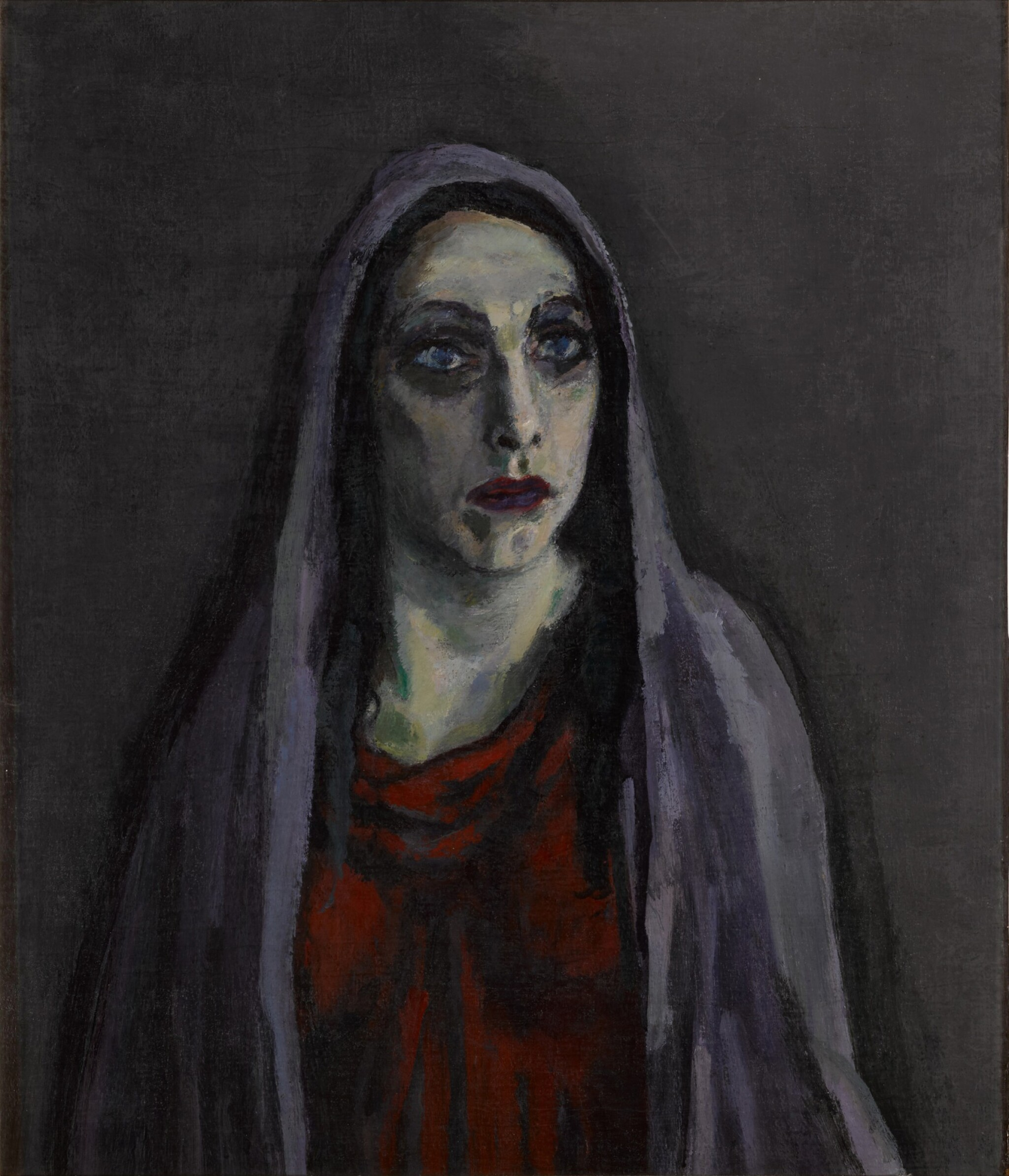 View full screen - View 1 of Lot 13. Portret van Charlotte Theresia Catharina Köhler (1892-1977) (Portrait of Charlotte Theresia Catharina Köhler (1892-1977)).